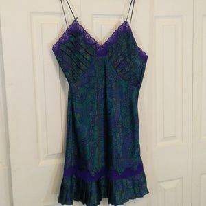 Victorias Secret Vintage Paisley Nightgown
